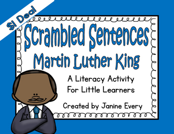 Martin Luther King - Scrambled Sentences