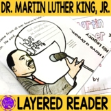 Martin Luther King Jr. Simple Flip Book Reading Activity