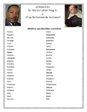 Martin Luther King Spanish Class Activity