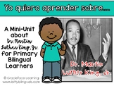 Biografías - Dr. Martin Luther King, Jr. en español