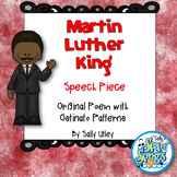 Martin Luther King - Speech Piece - Orff Style