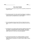 Martin Luther King Speech Questions