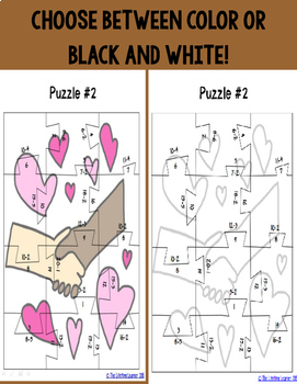 Martin Luther King Subtraction Puzzles