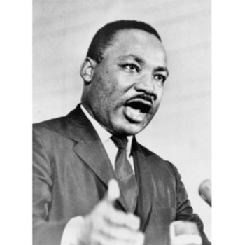 Martin Luther King  - Text and Exercise Sheets