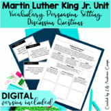 "Martin Luther King, Jr. ""I Have A Dream"" Reading & Writing Activity"