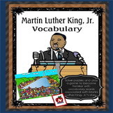 Martin Luther King Vocabulary