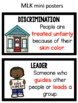 Martin Luther King Vocabulary- Civil Rights Movement