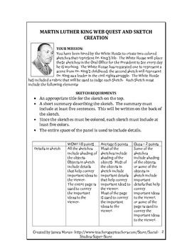 Middle School-Martin Luther King Web Quest