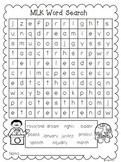Martin Luther King Word Search {Freebie}