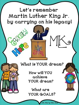 Martin Luther King Writing/ Black History Month Writing