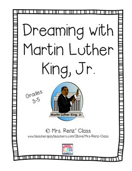 Dreaming With Martin Luther King Day Writing Activity (FREEBIE!)