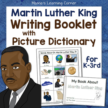 Martin Luther King Writing Booklet