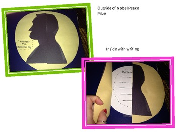 Martin Luther King Writing Craftivity FREEBIE!!