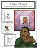 Martin Luther King Writing Prompt Quilt Craftivity