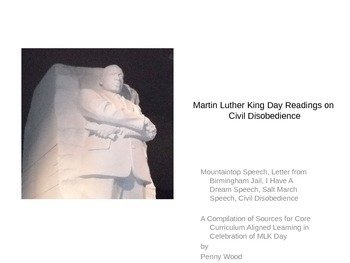 Martin Luther King and Civil Disobedience