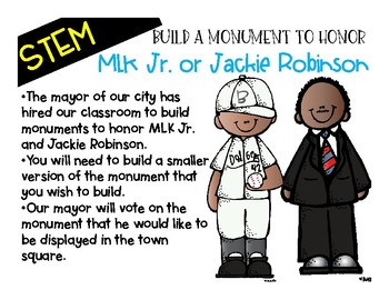 Martin Luther King and Jackie Robinson STEM Project
