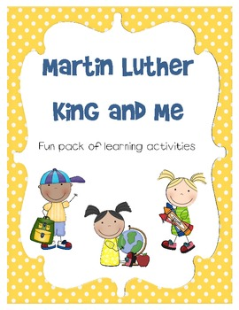 Martin Luther King and Me