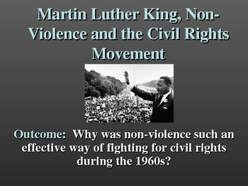 Martin Luther King and Nonviolent Resistance