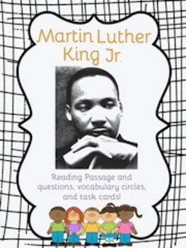 Martin Luther King and The Civil Rights Movement Activities
