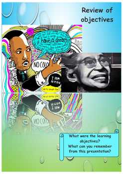 Martin Luther King day and Black History Month booklet