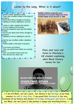 Martin Luther King day and Black History Month activities printables