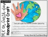 Martin Luther King or Earth Day Handprint Craft