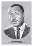 Martin Luther King - original illustration