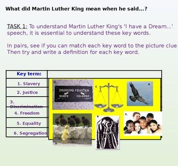 Martin Luther King's Speech