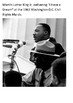 Martin Luther King, speech, I Have a Dream Handout
