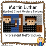 Martin Luther (Protestant Reformation; Lutheran) Hundred Chart Mystery Pictures