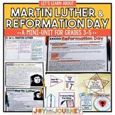 Martin Luther Reformation Day Activities for Upper Elementary