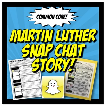 Martin Luther Snap Chat Story: Protestant Reformation Activity Worksheet