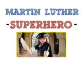 Martin Luther Superhero, Illustrated