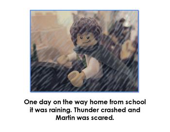 Martin Luther Superhero, Illustrated