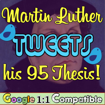 Martin Luther Tweets His 95 Theses!  The Protestant Reform