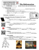 Martin Luther and The Reformation Guided Lecture Notes