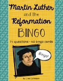 Martin Luther and the Reformation BINGO