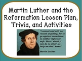 Martin Luther and the Reformation Lesson Plan, Trivia, and