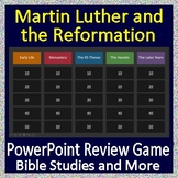 Bible Study Distance Learning Martin Luther/Reformation Review Game | Google