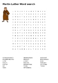 Martin Luther and the Reformation Word Search