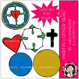 Martin Luther clip art - Seal - Mini - Melonheadz Clipart
