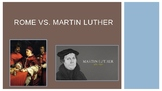 Martin Luther versus Rome