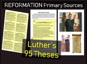 Martin Luther's 95 Theses Primary Source Document with Guiding Questions