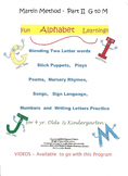 Alphabet Pre K Puppet Plays  G to M - Martin Method