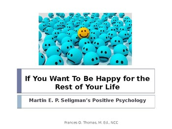Martin Seligman's Happiness Model
