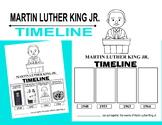 Martin luther king Jr. Kindergarten activity timeline lesson black history month