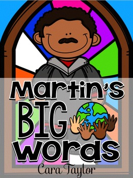 Martin's Big Words ~ Black History Month
