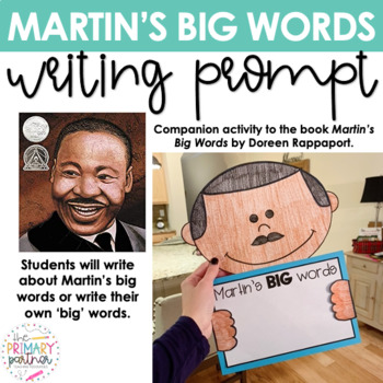 Martin's Big Words Book Craft for Dr. Martin Luther King Jr. (MLK) Day