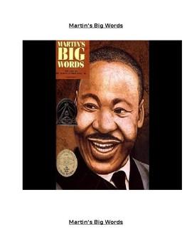 Martin's Big Words Interactive Read Aloud