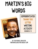Martin's Big Words Letter Writing Activity